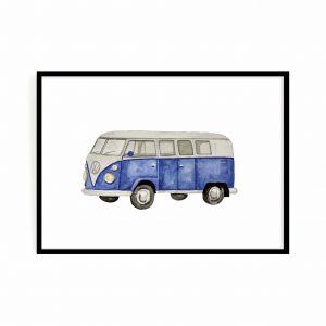 Blue car