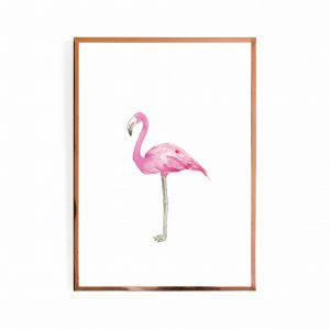 Flamingo Left